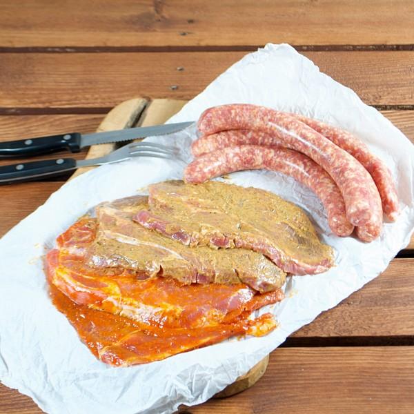 Schweine-Lehmanns kleines Grill-Paket