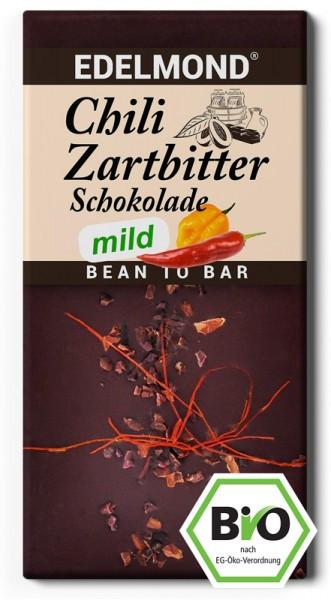 BIO - MILDE Chili Zartbitterschokolade