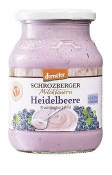 BIO Fruchtjoghurt Heidelbeere DEMETER