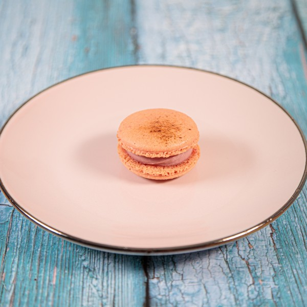 Macarons Himbeer Rose Lakritz