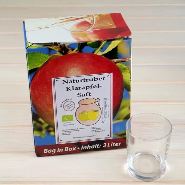 BIO - Naturtrüber-Klarapfel-Saft 3,00 ltr.