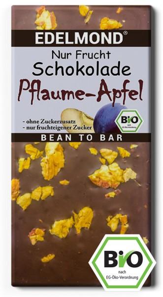 """BIO - """"Nur Frucht"""" Pflaume-Apfel-Schokolade"""