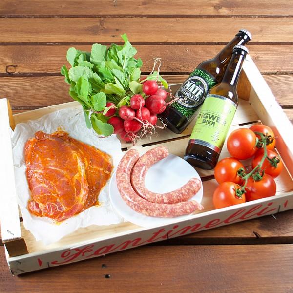 soreegio - kleine Grillbox mit Bier