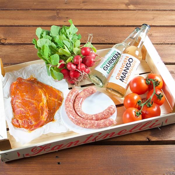 soreegio - kleine Grillbox mit Limo
