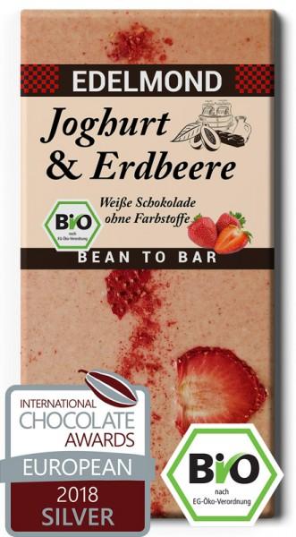 BIO - Joghurt & Erdbeere, Weiße Schokolade