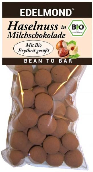 BIO - Haselnüsse in Milchschokolade