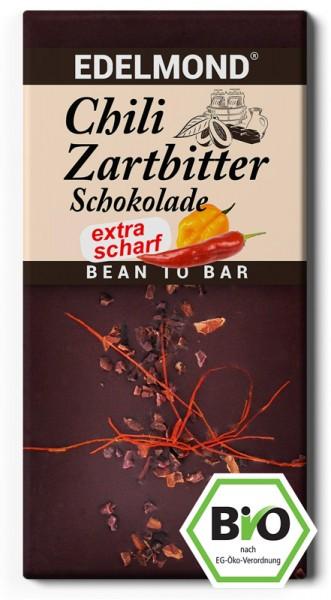 BIO - SCHARFE Chili Zartbitterschokolade