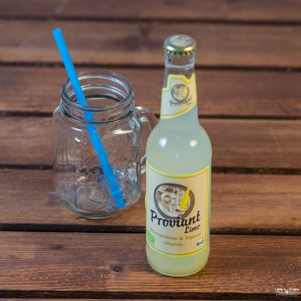 Proviant Zitrone - Ingwer Limo