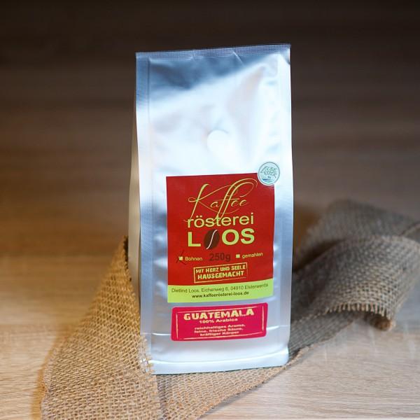 Kaffee Guatemala gemahlen 250g