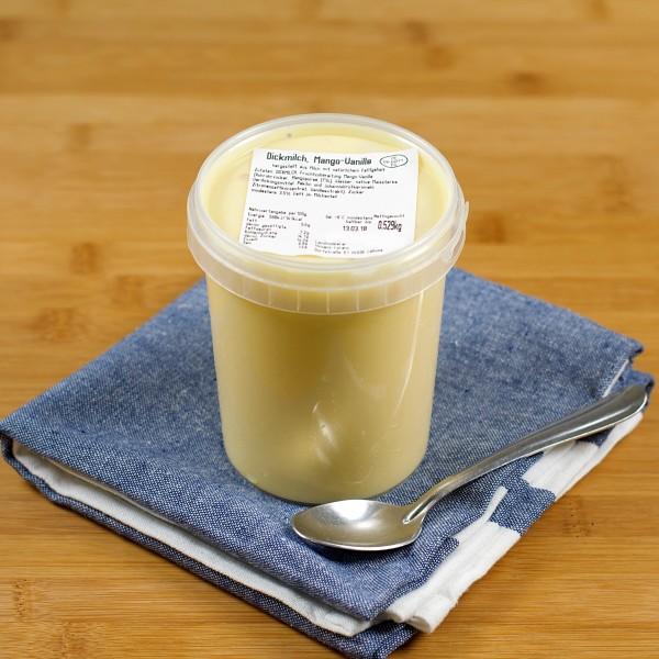 0,5l Dickmilch Mango-Vanille
