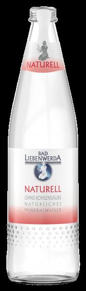 Bad Liebenwerda Mineralwasser Sanft 0,75 Liter Glasflasche