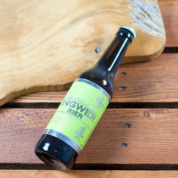 Ingwer Bier 0,33 ltr.