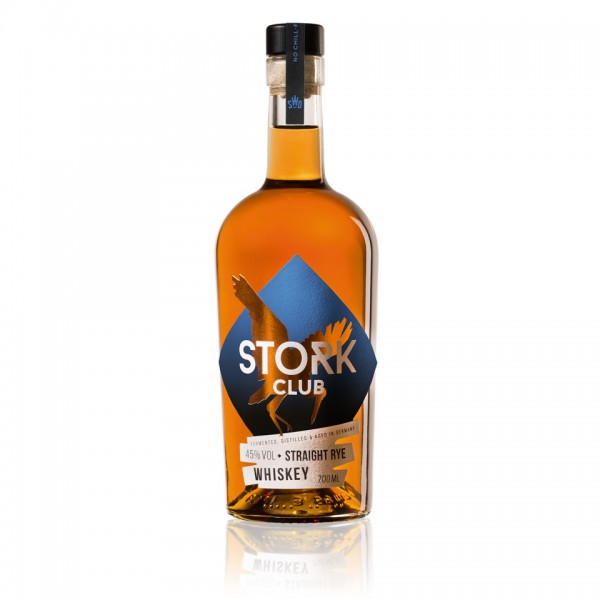 STORK CLUB STRAIGHT RYE WHISKEY - Miniature