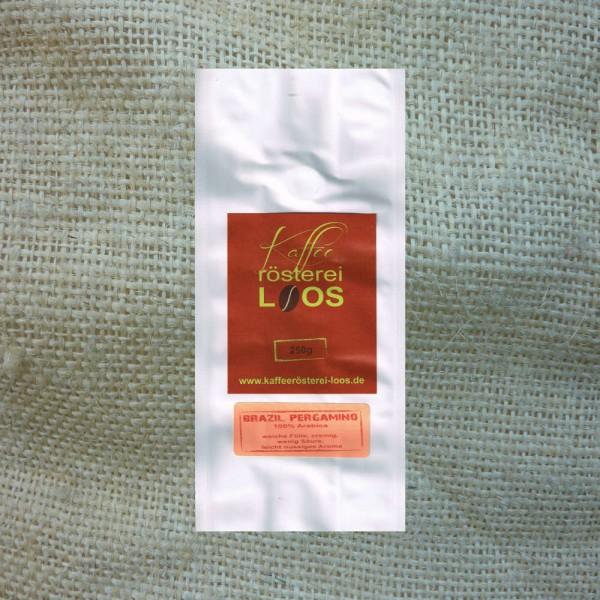 Kaffee Brasil Pergamino Bohne 250g