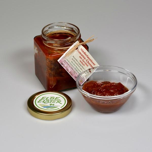 Niederlausitzer Tomaten-Chutney mit Zucchini