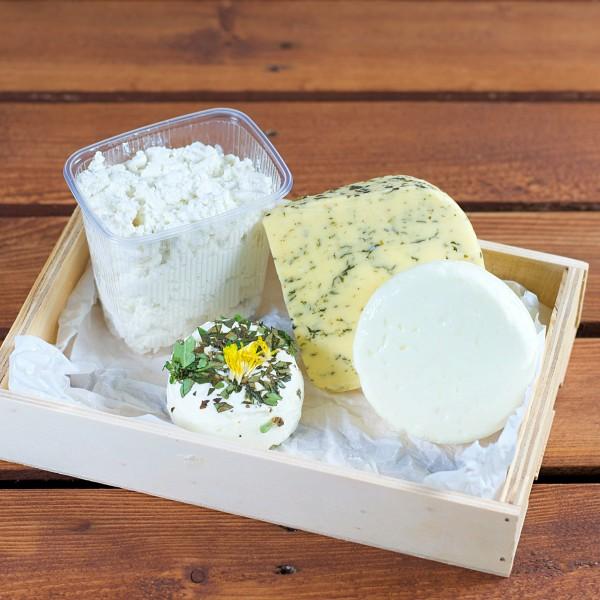 soreegio - regionale Käse - Box