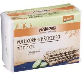 BIO Vollkorn-Knäckebrot-Dinkel DEMETER