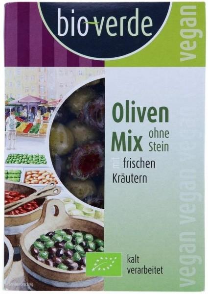 BIO - Oliven-Mix ohne Stein 150g