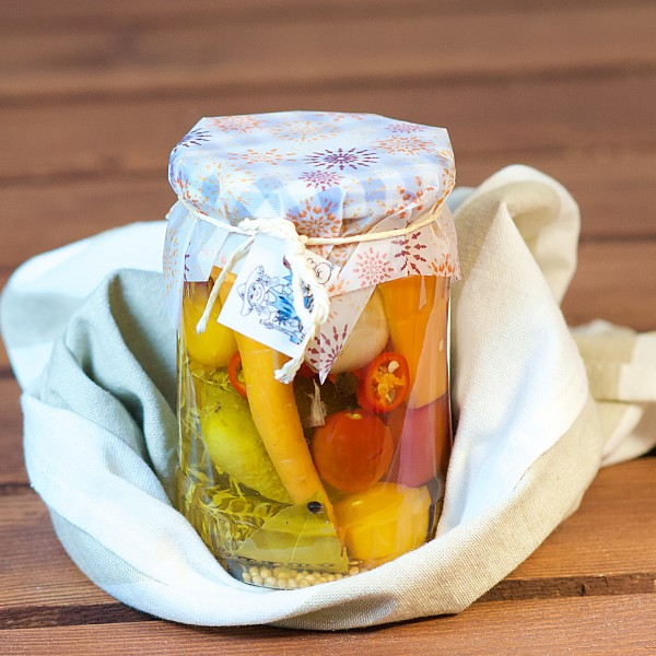 Mixed Pickles im Glas