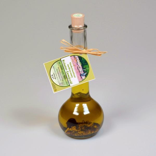 Niederlausitzer mediterranes Kräuter Gewürzöl
