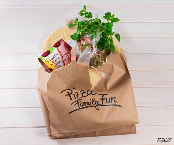 Pizza Family Fun für 4 Pizzen